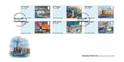 First Day Cover Bailiwick Lighthouses